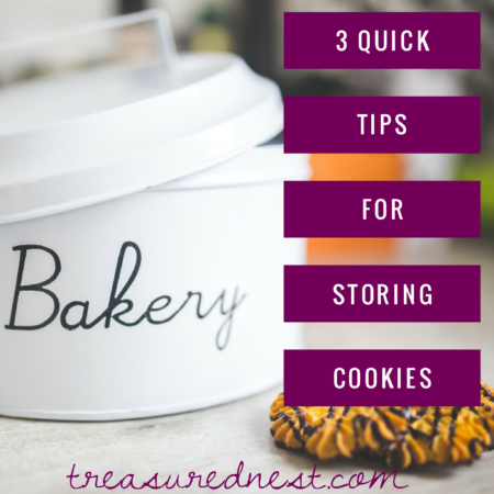 Three Tips for storing cookies