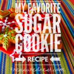 Tupperware Sugar Cookie Recipe